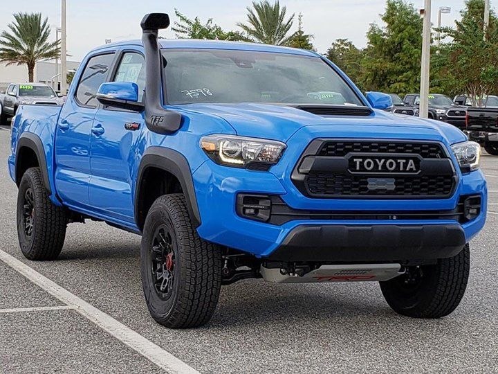 We love the voodooblue color of the 2010 TRD Pro