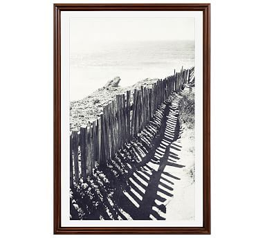 Beach Fence by Lupen Grainne, 11 x 13\