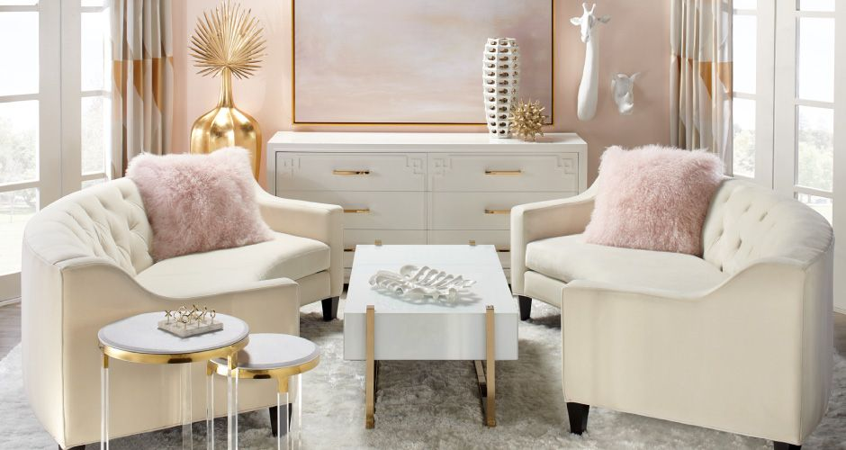 Inspired By This Look On Zgallerie From Z Gallerie Feminine Living Room Home Decor Living Room Designs