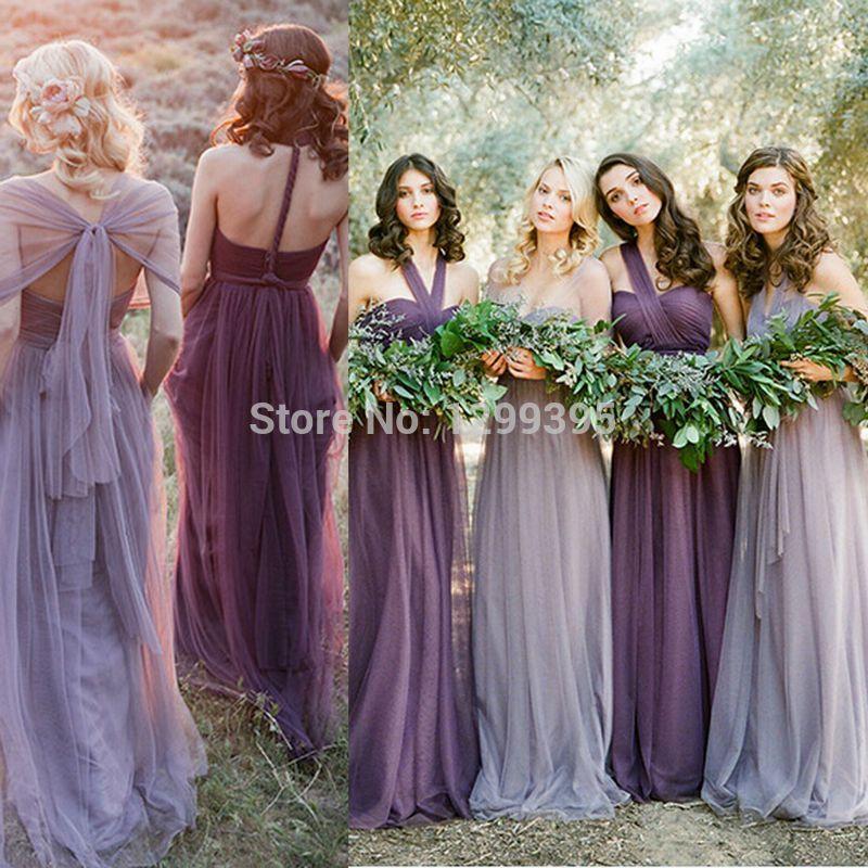 Resultado de imagen para lavender bridesmaid dress | Damas ...