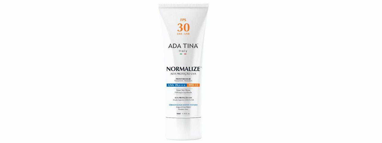 Protetor Solar Normalize FPS 30, Ada Tina
