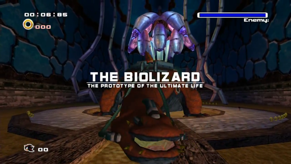 Biolizard | Greatest Sonic Characters and Vehicles of all time