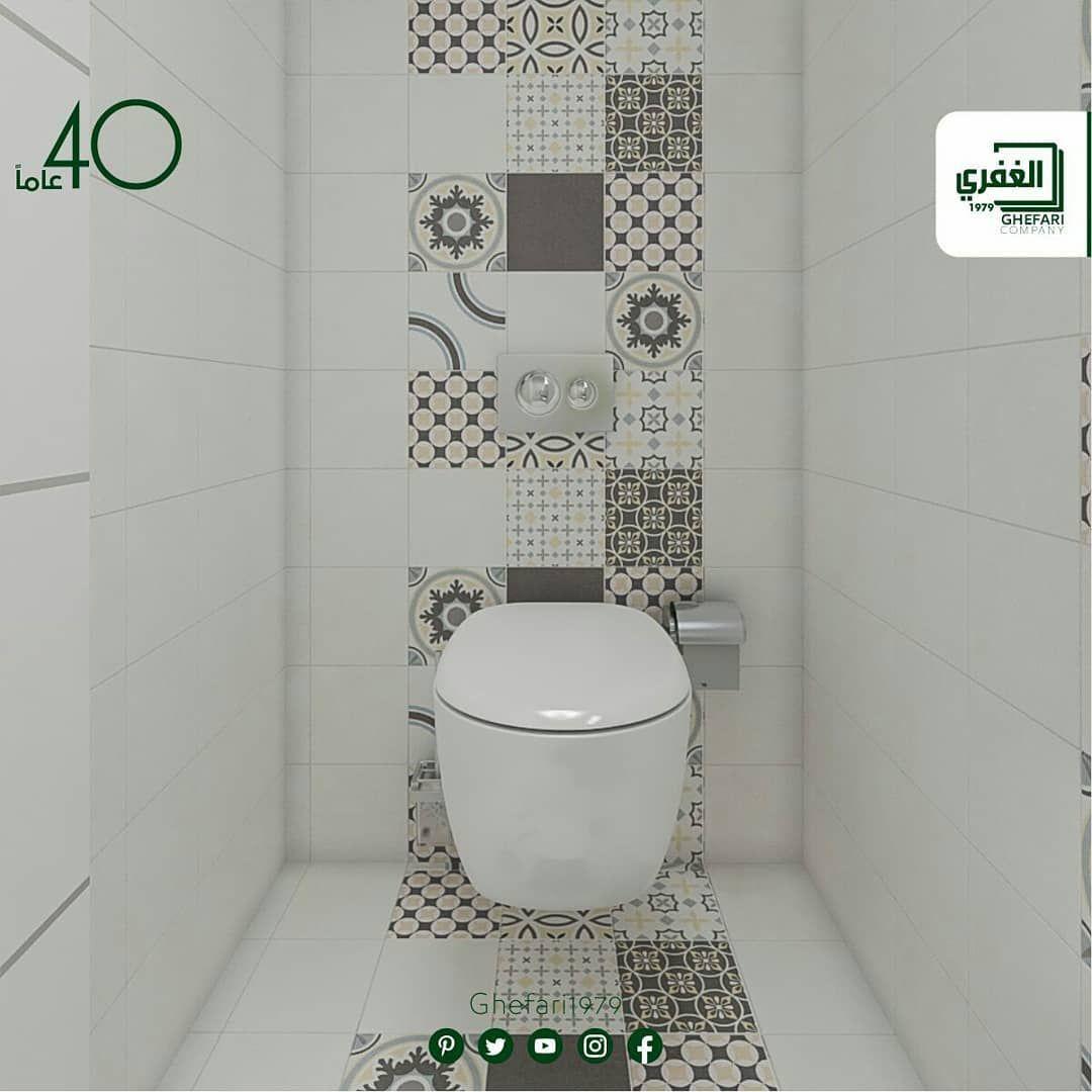 بورسلان ارضي حوائط حمامات مطبخ اسباني الصنع مقاس 20x20 ديكور 20x20 للمزيد زورونا على موقع الشركة Https Www Ghefari C Toilet Instagram Posts Bathroom