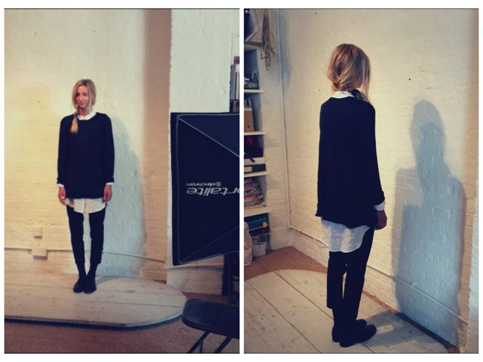 Cabbages and Roses Square Jumper AW13