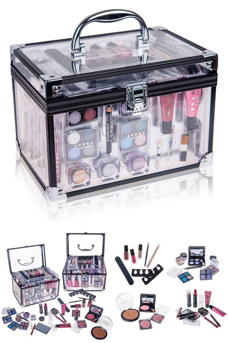 All In One Makeup Kit Eye Shadow Palette Blushes Powder And More This Affordable Makeup Set Is Filled With Hig Makeup Kit Professional Makeup Kit Makeup Set