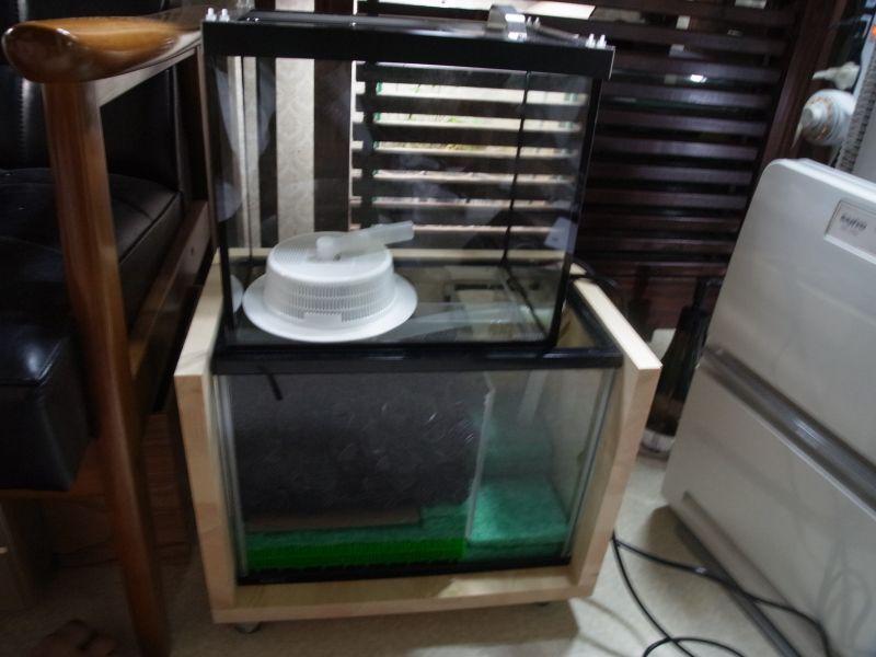 水槽 自作 オーバーフロー