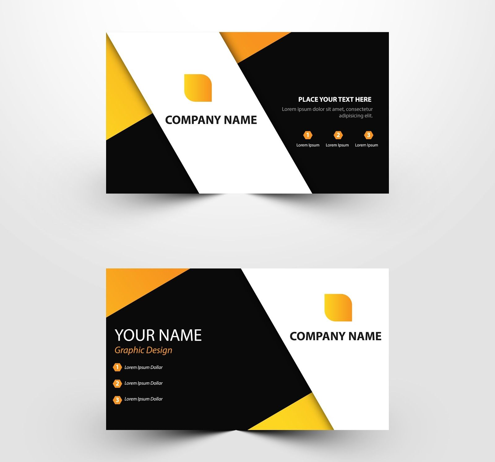 Free Download Business Card Templates Ai Files Psd Files With Regard To Name Card Free Business Card Templates Visiting Card Templates Download Business Card