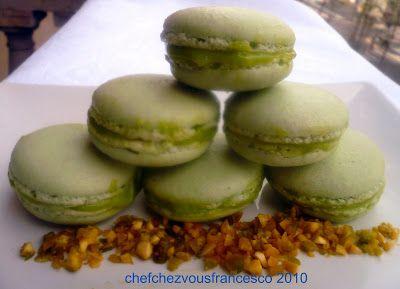 Chefchezvous: Les Macarons al pistacchio