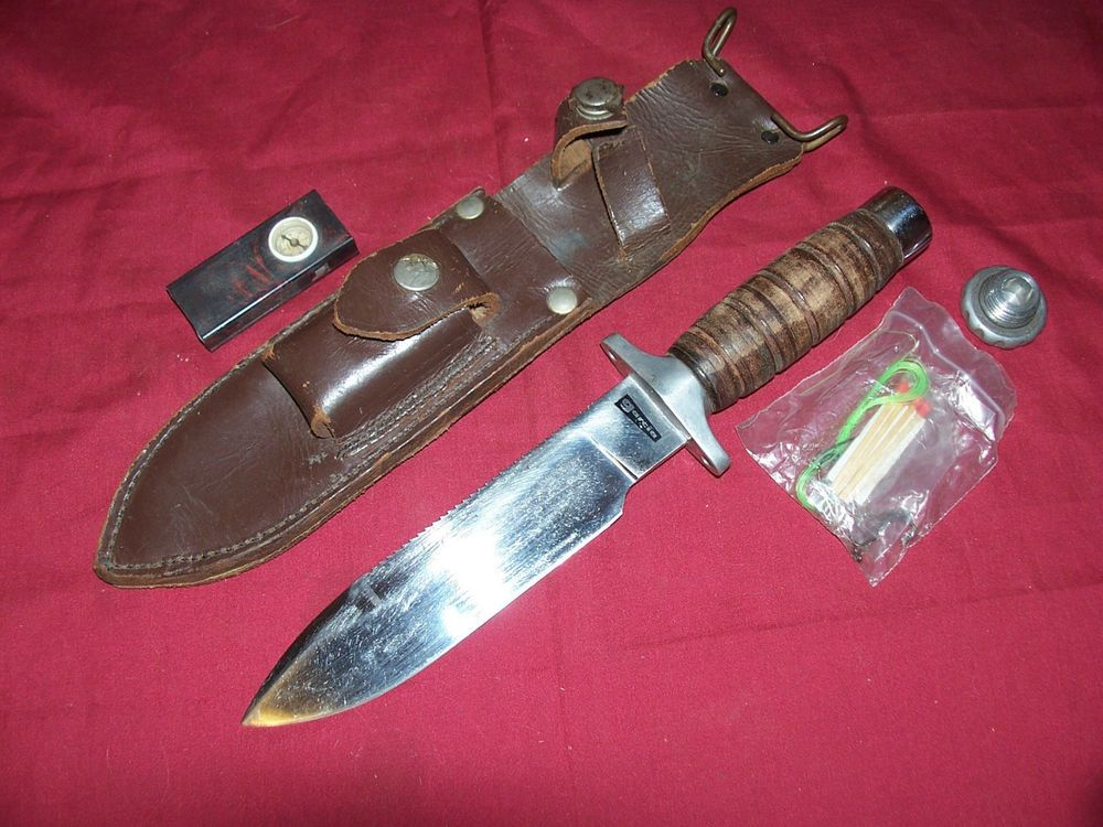 Old Garcia Jacques Brazil Hunting Knife Fighting Survival
