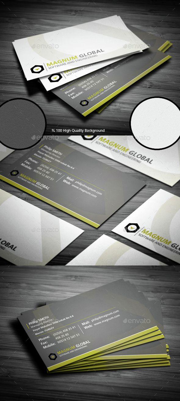 Corporate Premium Business Card   Premium business cards, Business ...