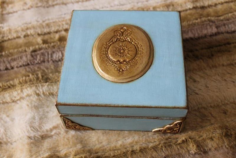 Vintage Schatulle,Schachtel von vintage Shop auf DaWanda.com