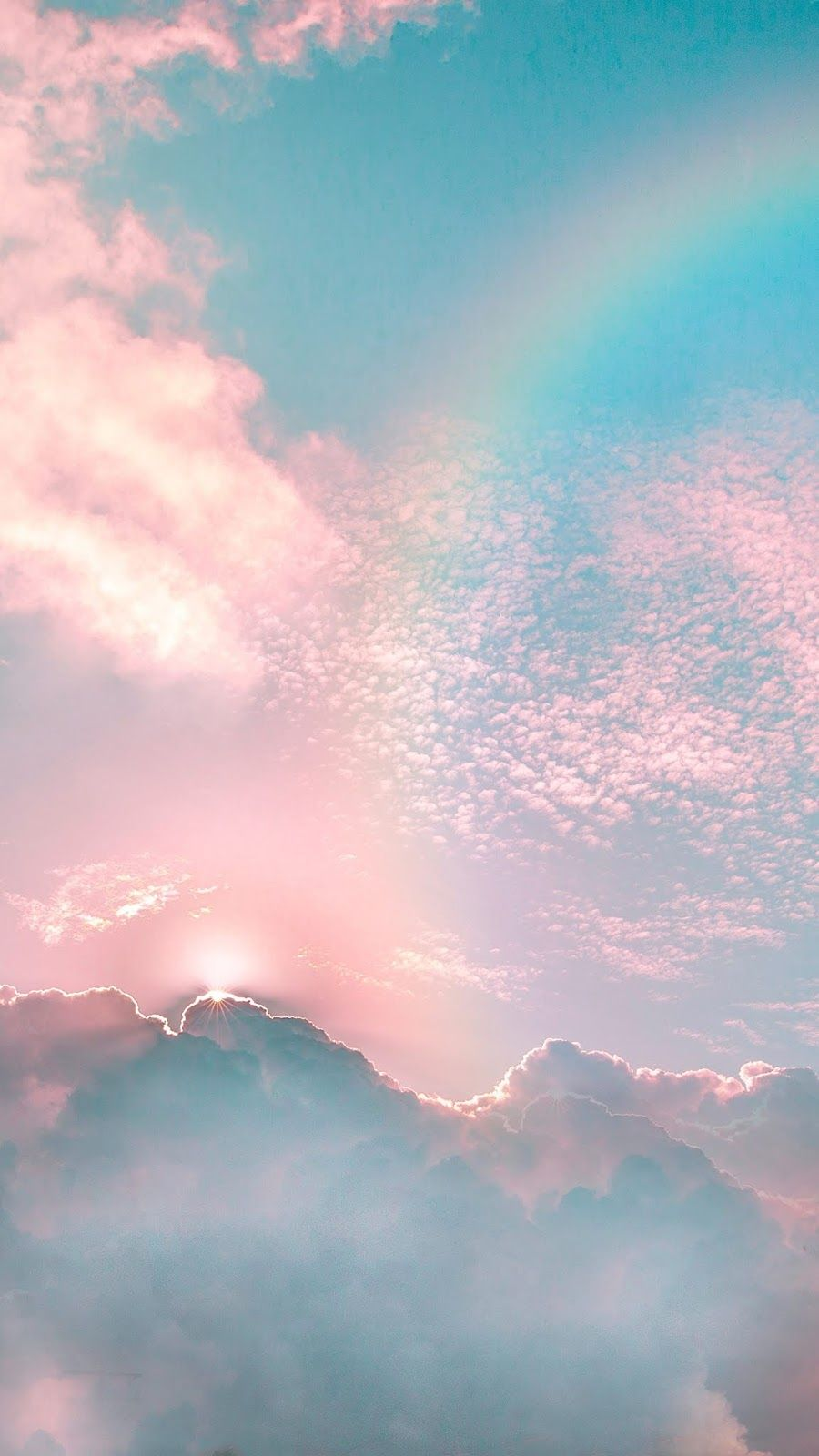 Aesthetic Rainbow Wallpaper Iphone