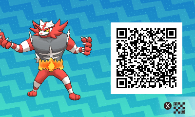 the qr code scanner or island scan in terms or pokemon sun and moon