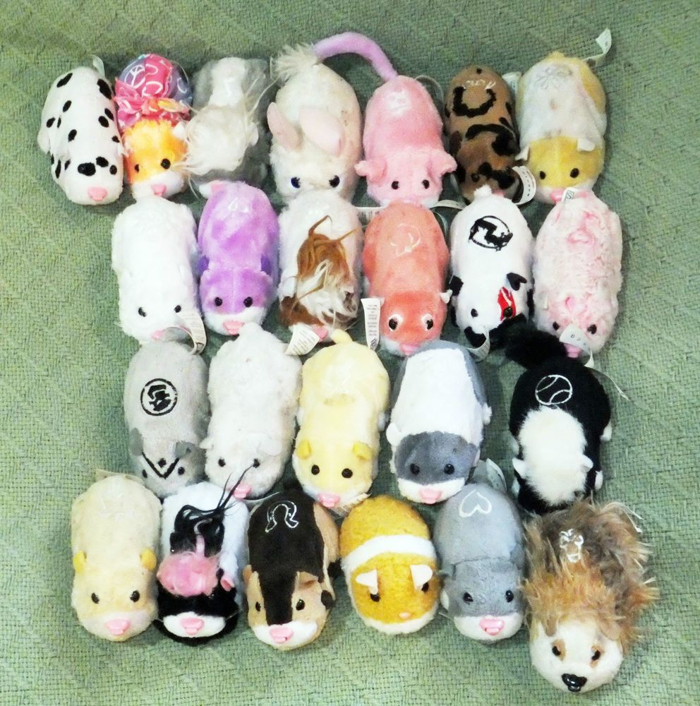 24 Zhu Zhu Pets Lot Hamsters Battery Operated Animated Interactive Toys Zhuzhu Zhu Zhu Childhood Memories 2000 Interactive Toys