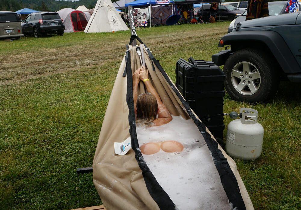 Hot Tub Hammock >> Hydro Hammock Portable Hot Tub Hammock Camping Done Right