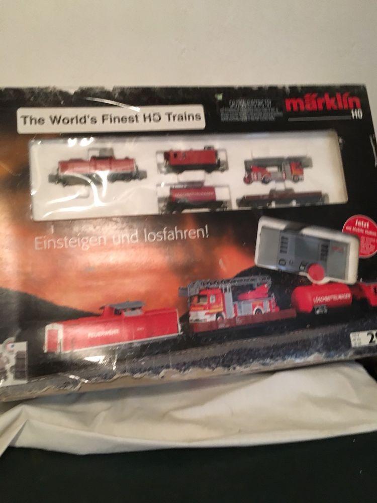 Marklin #29755 HO Fire Department Digital Starter Set W/ Box