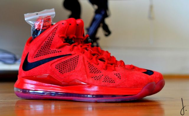 "Nike Lebron 10 EXT ""Red Suede"""