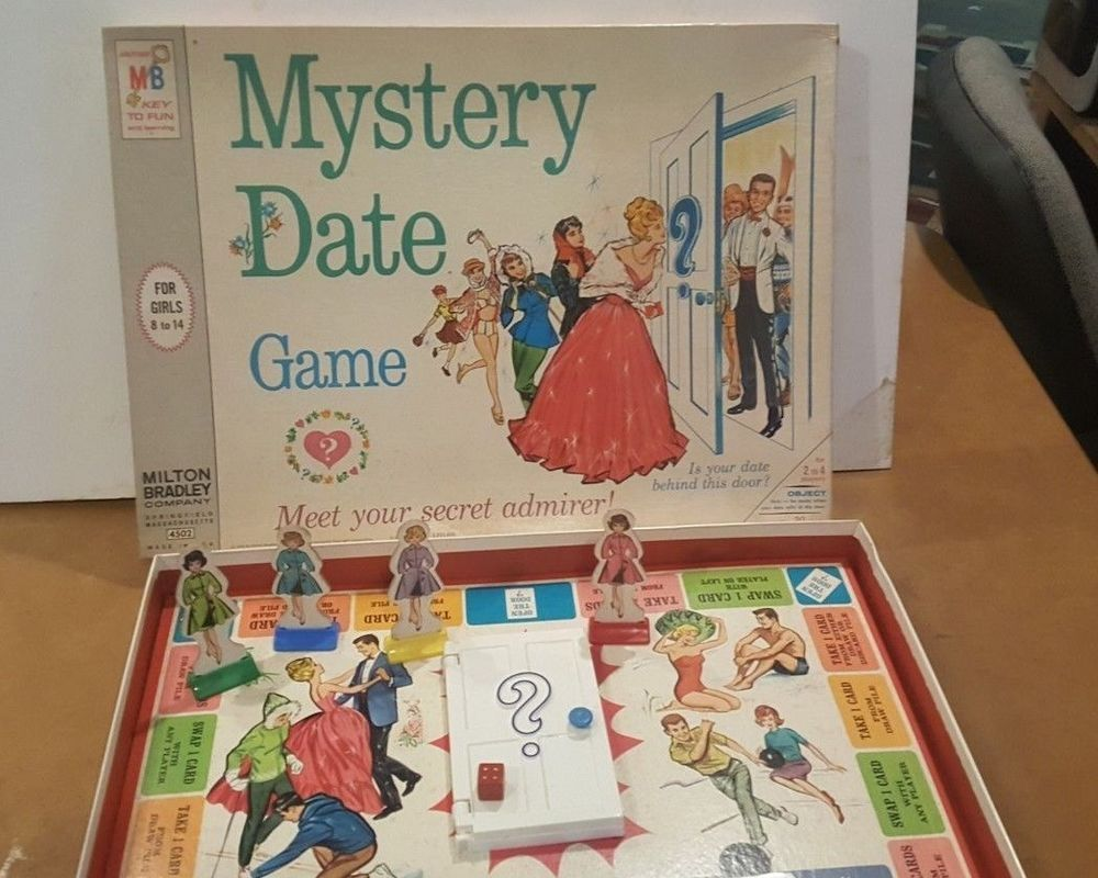 The game dating book mystery