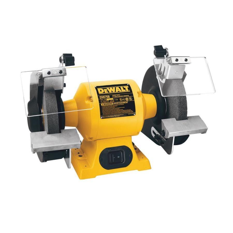 Dewalt 6 In Bench Grinder Dw756 In 2020 Bench Grinder Dewalt Tools Dewalt Power Tools