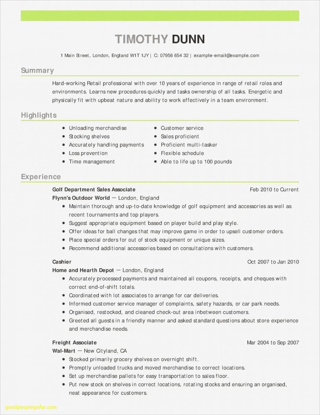 Examples Of A Resume 1 Robert Newswriter 1 Job Resume Examples Resume Examples Good Resume Examples