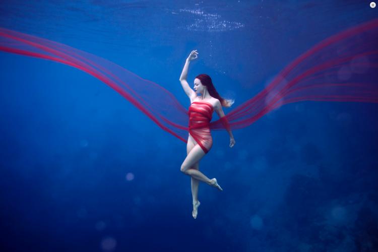 Mermaid Yoga.  WOW