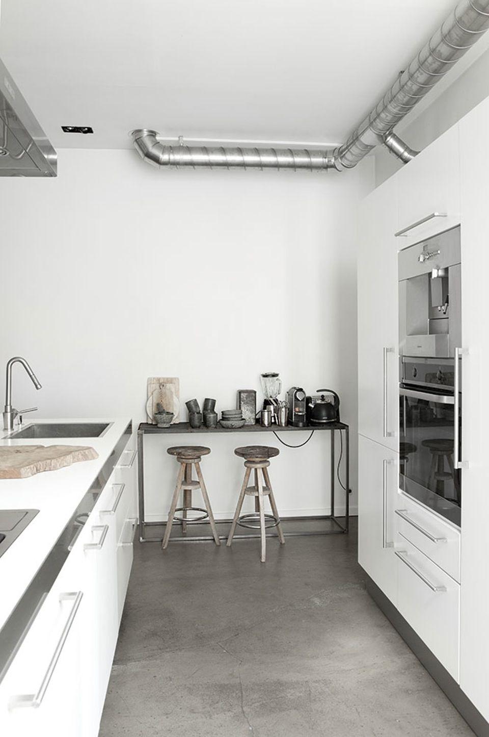 Noorse woonkeuken van stylist Ingeborg Wolf | Inrichting-huis.com ...