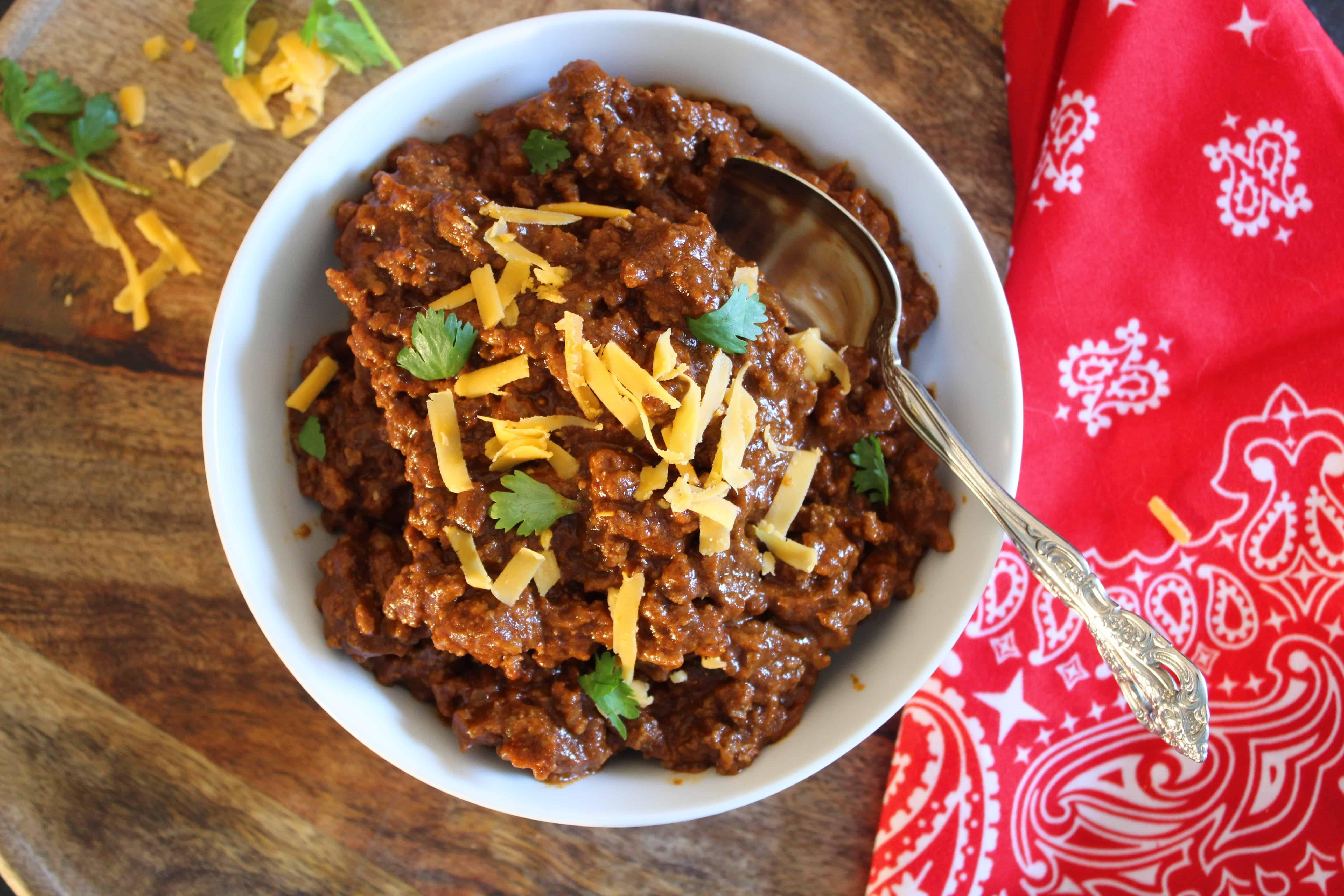 True Texas Chili Texas Chili Southern Recipes Soul Food Chili