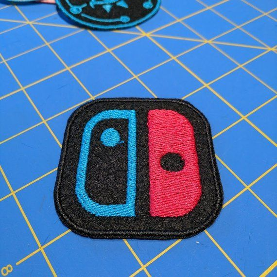 Nintendo Switch logo patch (Joycon Neon colors) | Products in 2019