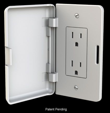 Electrical Outlet Cover Plates Brantley Home Products  Conceal Paintable & Child Resistant Wall