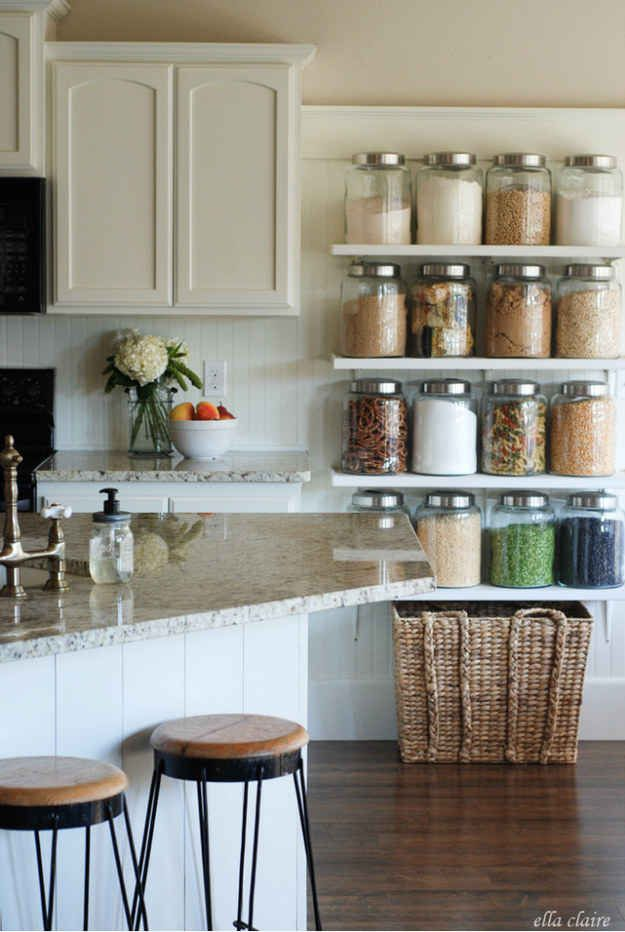 33 Hacks To Organize All The Small Things | kitchen storage ideas ok ...