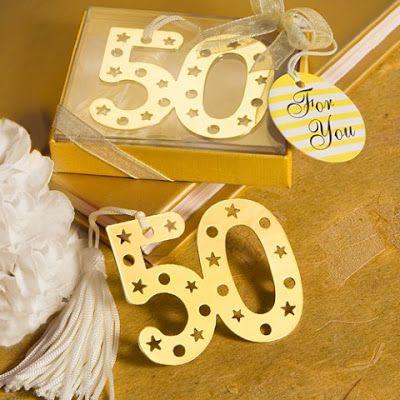 Ideas para Fiesta de Aniversario por 50 Años   Decoraciones Para Fiestas