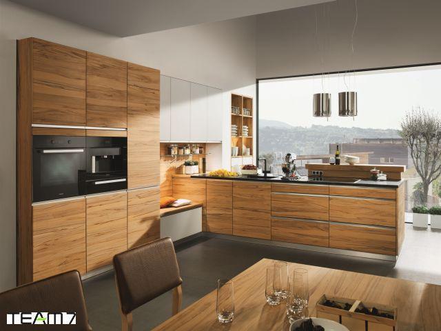 Bildergebnis für küchen holz modern | Küchen | Pinterest | Modern ... | {Küche modern holz 11}