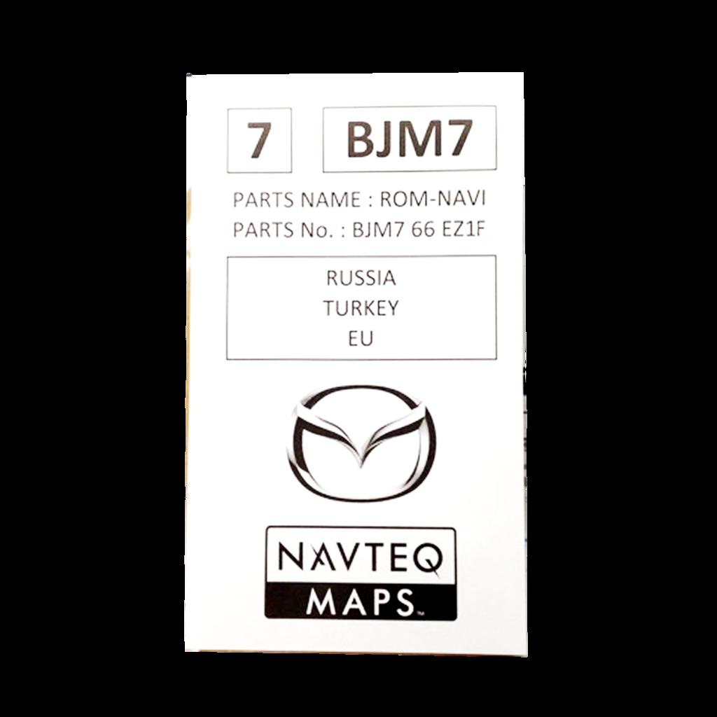 MAZDA SKYACTIVE CONNECT 2018 SD-KARTE Navigation