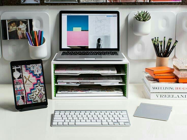 Superbe Organizing · Laptop OrganizerLaptop StorageOffice Cubicle ...