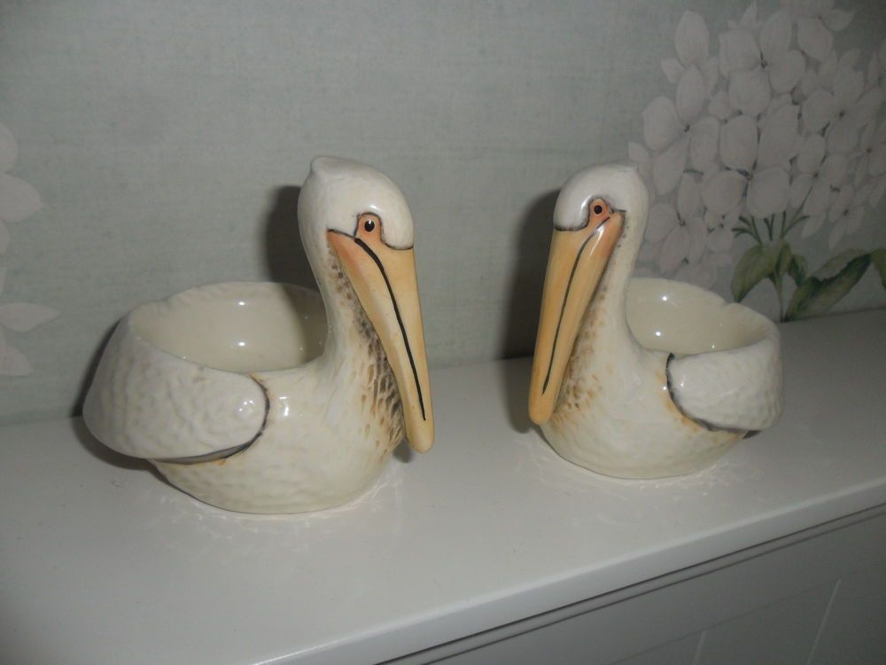 Eggcups 2 x pelicans easter gifts in collectables kitchenalia eggcups 2 x pelicans easter gifts in collectables kitchenalia egg cups ebay negle Image collections