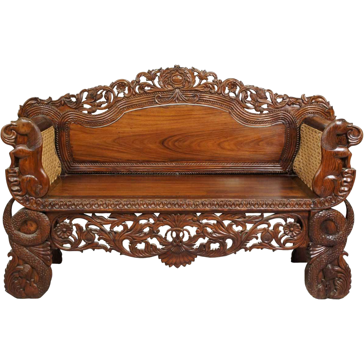 Item Id Ch1359 In Store Backroom Carved Furniture Wooden Sofa Settee