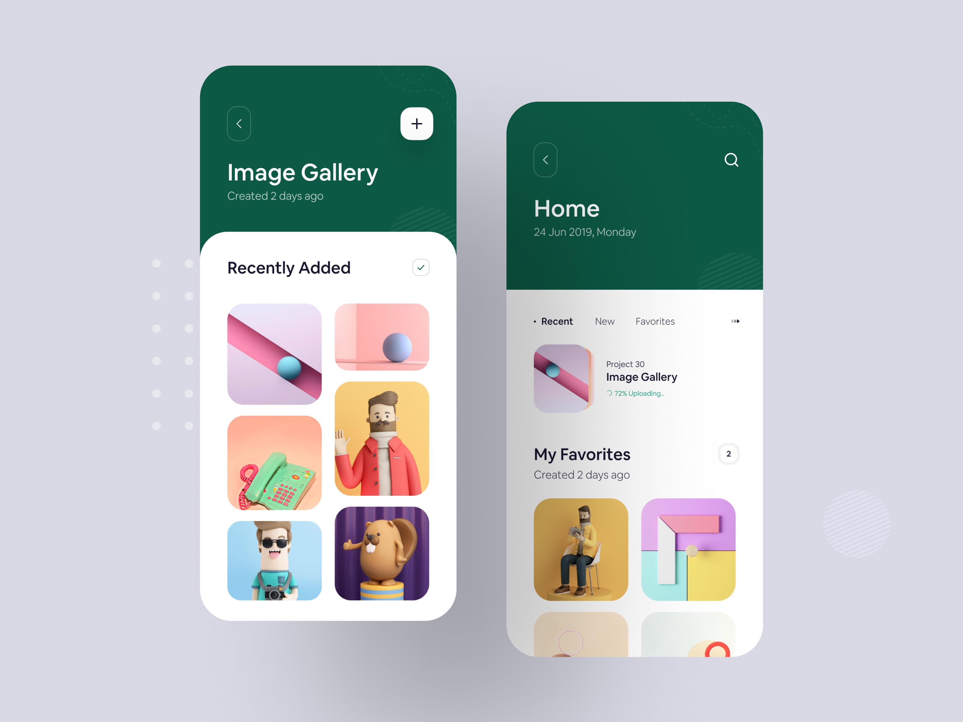 Image Gallery Ios App Concept By Luova Studio Ios App App Design App
