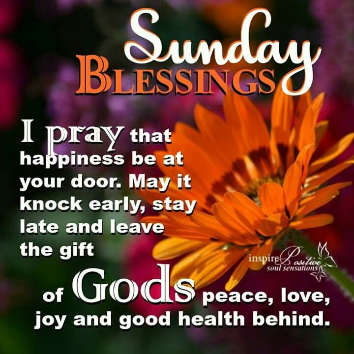 100 Great Sunday Blessings Images And Quotes Michigancougarcom