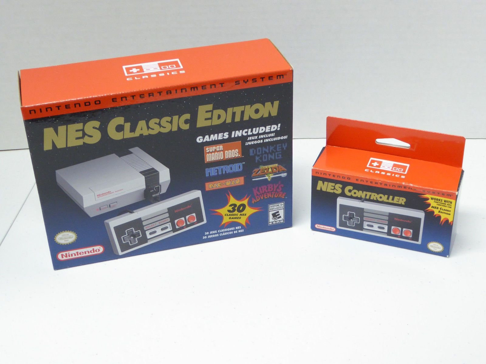 Nintendo Nes Classic Edition Brand New Mini Console Extra Official
