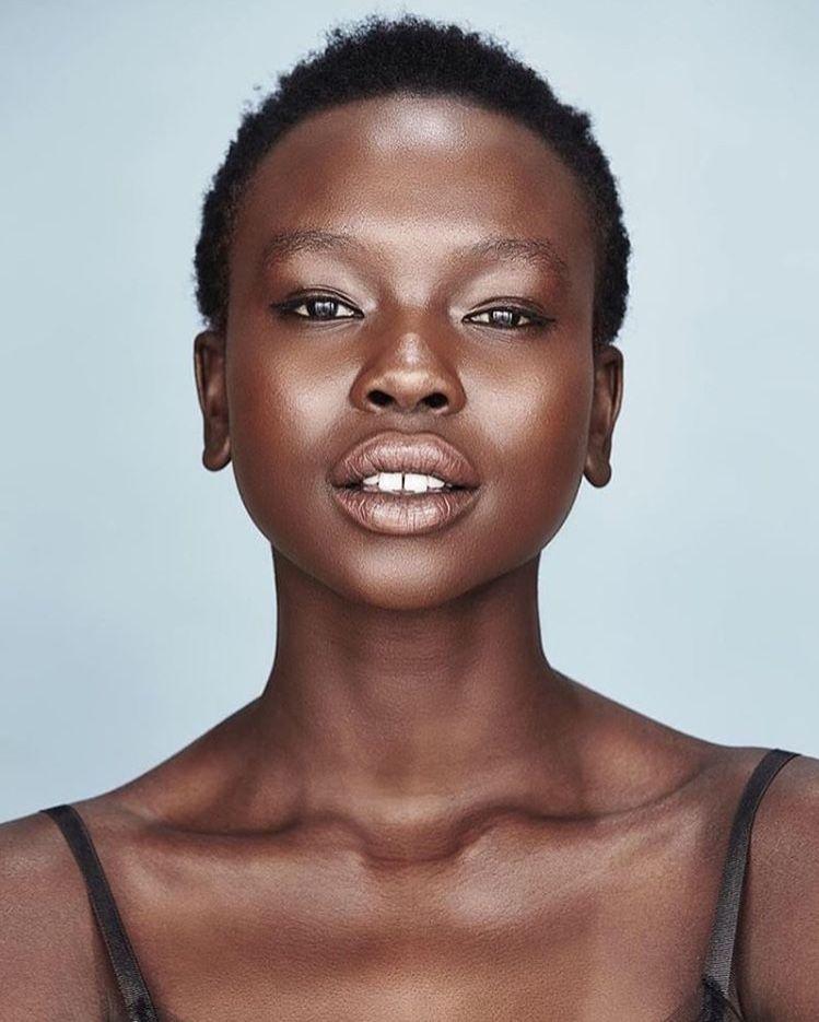 African Black Skin Beauty Fashion Melanin Portrait