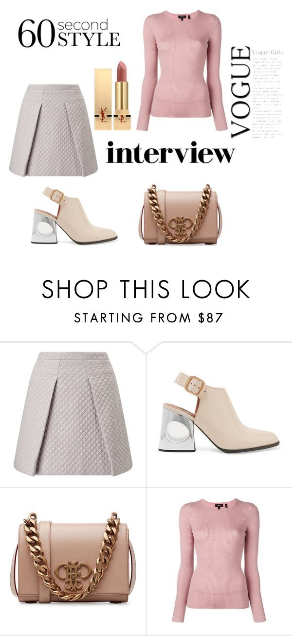 """J"" by ena07-dlxx ❤ liked on Polyvore featuring Marni, Emilio Pucci, Theory, Yves Saint Laurent, jobinterview and 60secondstyle"
