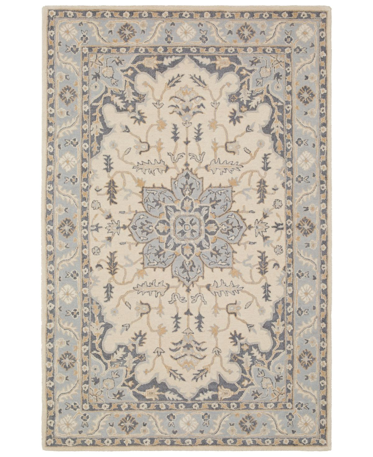 Surya Viva Vva 1003 Light Gray 8 X 10 Area Rug Reviews Rugs