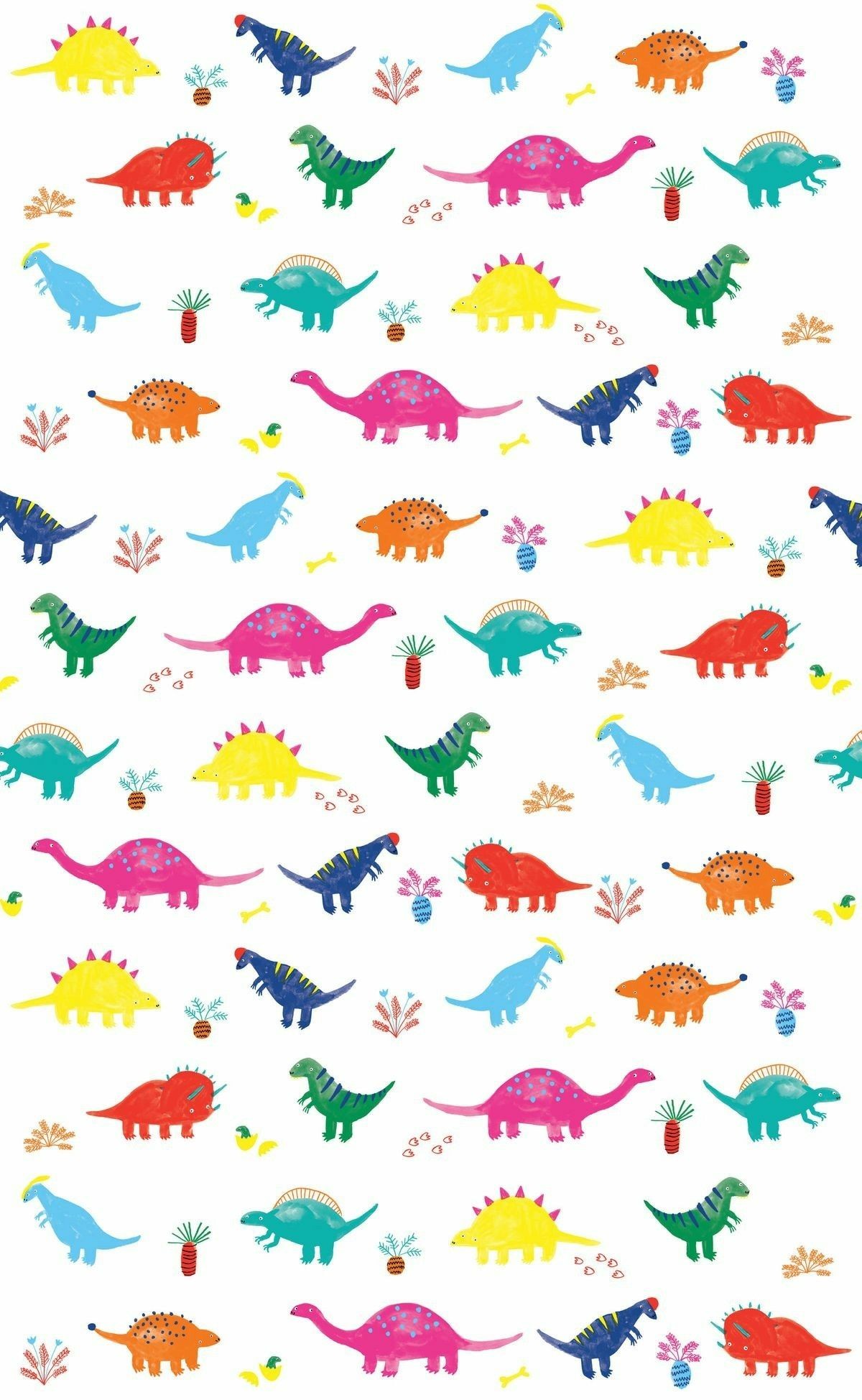 Pin by Sarah on *Backgrounds Pattern wallpaper, Dinosaur