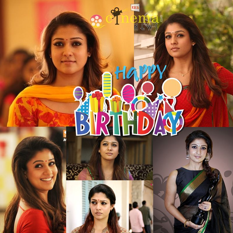 Happy Birthday to Actress Nayanthara Kurian!!! => http