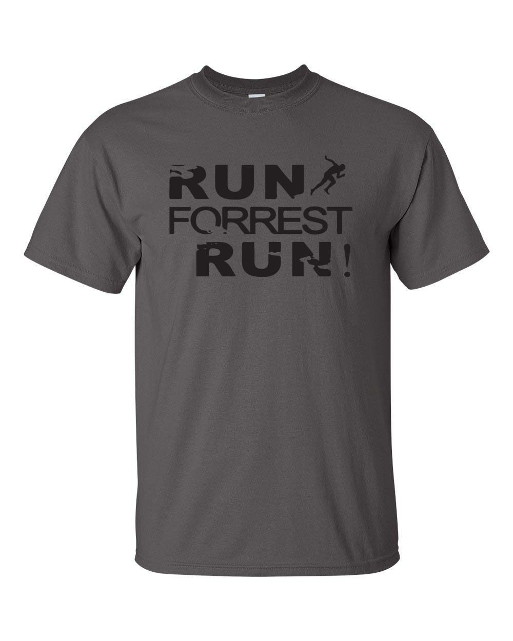 Run Forrest Run Movie Retro Gump Running Workout Funny Men S Tee