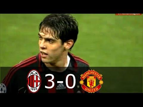 Ac Milan Vs Manchester United 3 0 Ucl 2006 2007 Full Highlights Eng