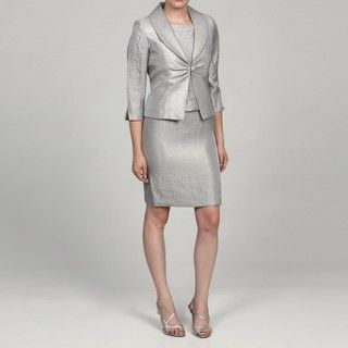 @Overstock - This stylish ensemble from Jessica Howard features a single button front closure jacket with a spread collar and split sleeves. A sleeveless, scoop neck dress with bead embellishments highlight this two-piece suit.http://www.overstock.com/Clothing-Shoes/Jessica-Howard-Womens-Petite-2-piece-Split-Sleeve-Jacket-Dress/6089832/product.html?CID=214117 $58.99