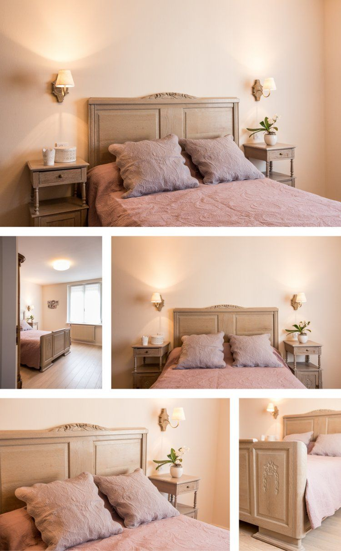 dcoration chambre charme beige et vieux rose obernai - Chambre Vieux Rose Et Beige