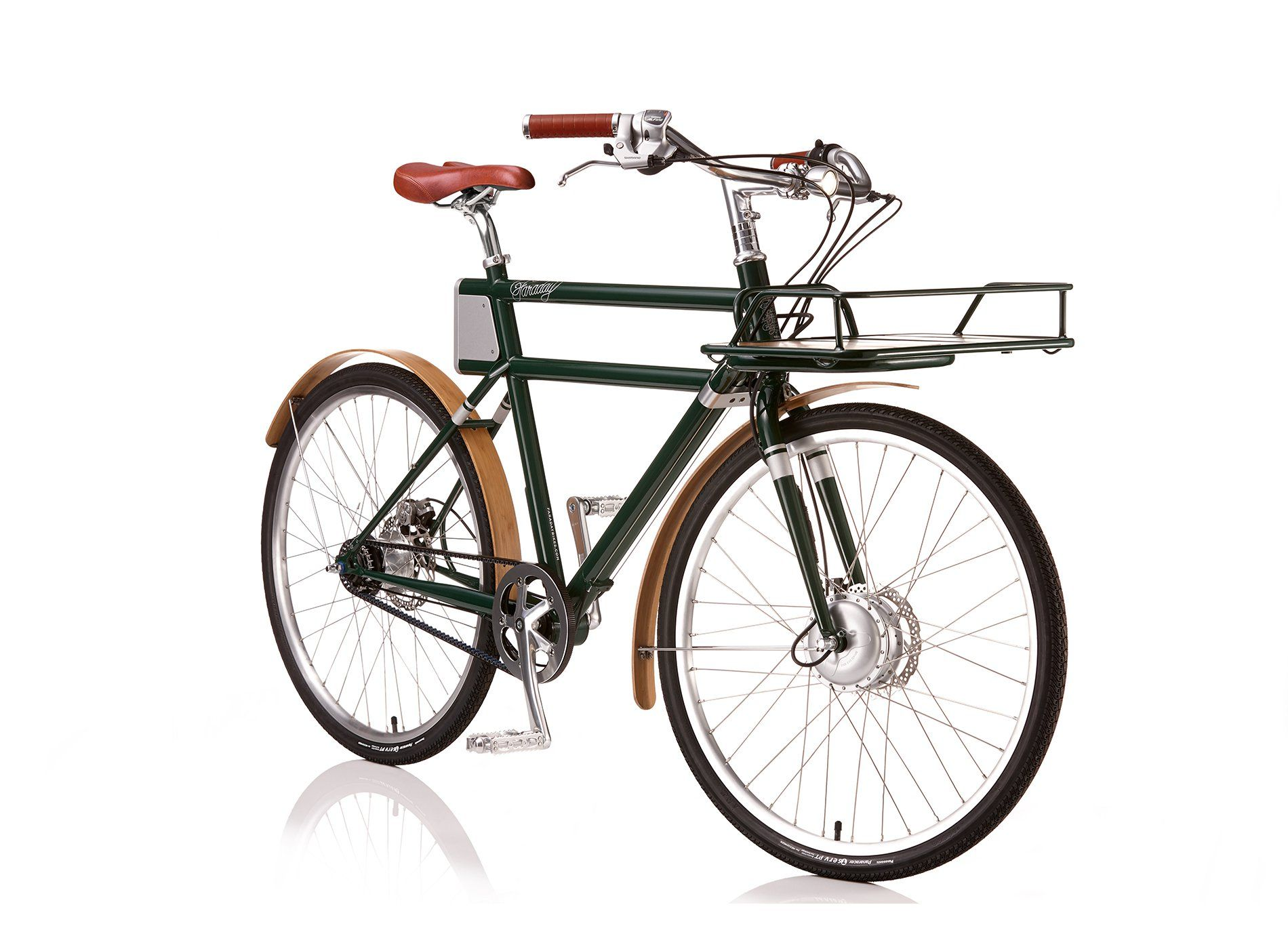 The Faraday Porteur E Bike Sepeda