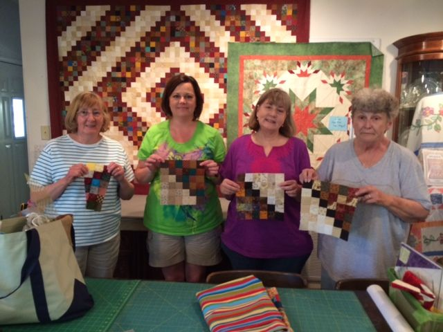 Pixolated Diamonds class at www.sagercreekquilts.com